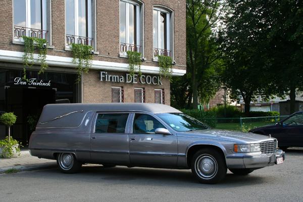 Begrafenis Antwerpen